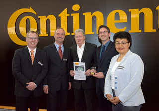 ContiTech featured our company as supplier of the year 2015